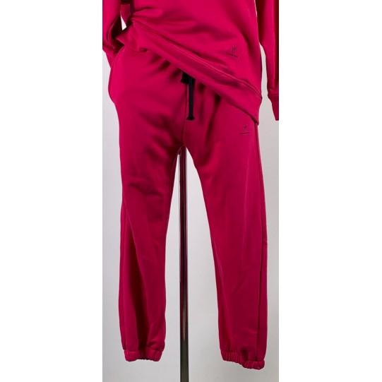 pantalone felpa over donna