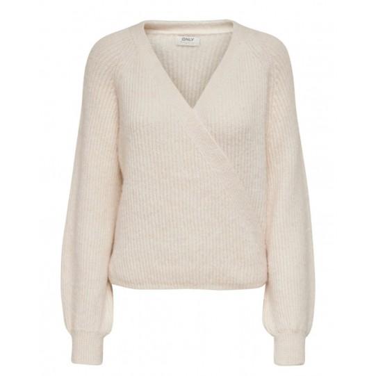 pullover intrecciato